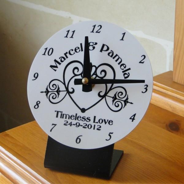 timeless love clock customize nation