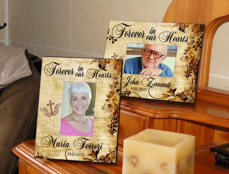 Forever In Our Hearts Picture Frame Customize Nation