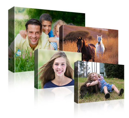 Rectangular canvas 11 sizes to choose from