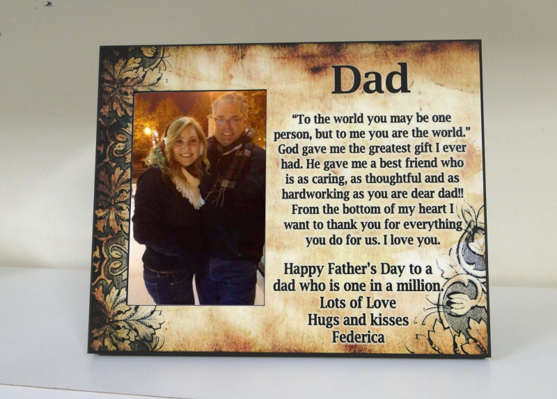 To My Dad Frame Customize Nation
