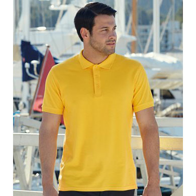 112c8aeea91 Men's Polo Shirt - Fruit of the Loom - SS255/SS5 - Customize Nation