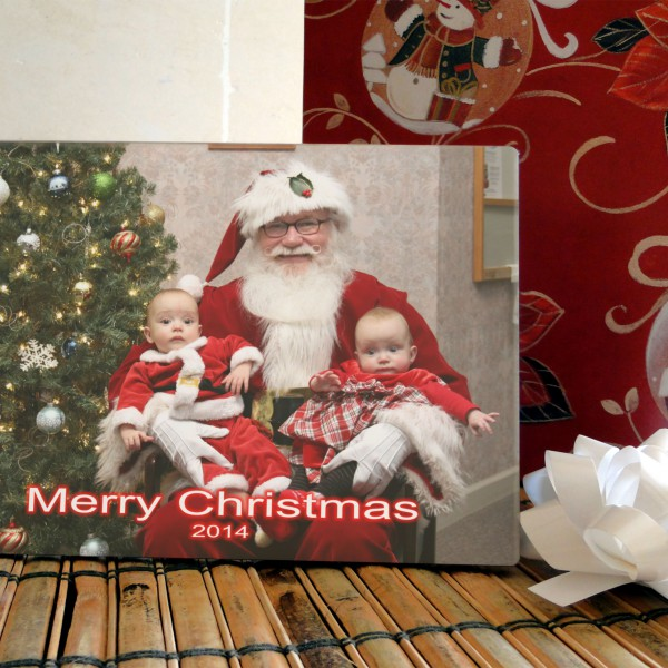 """ Santa "" Photo Plaque"