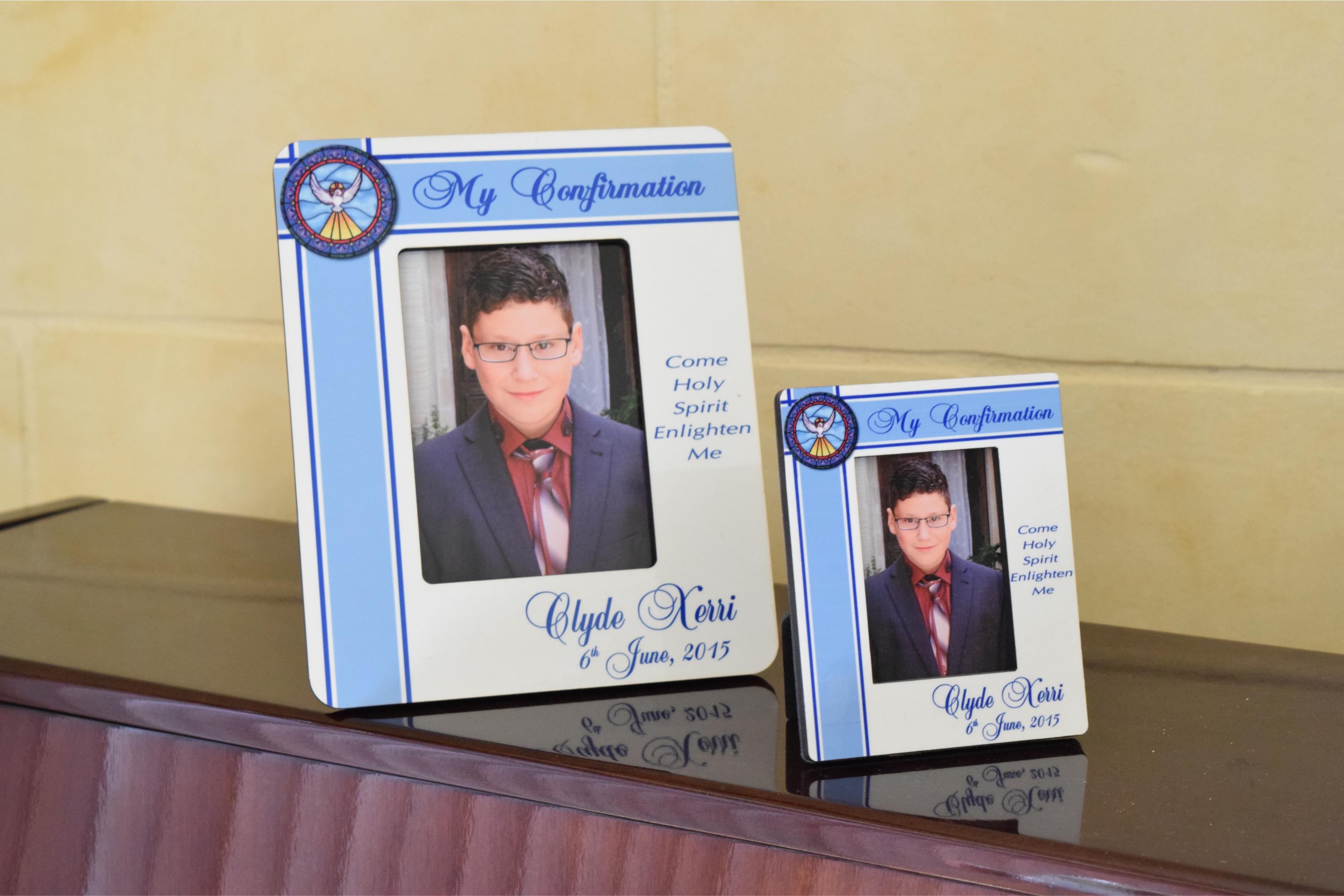 Confirmation Picture Frames Souvenirs - Customize Nation