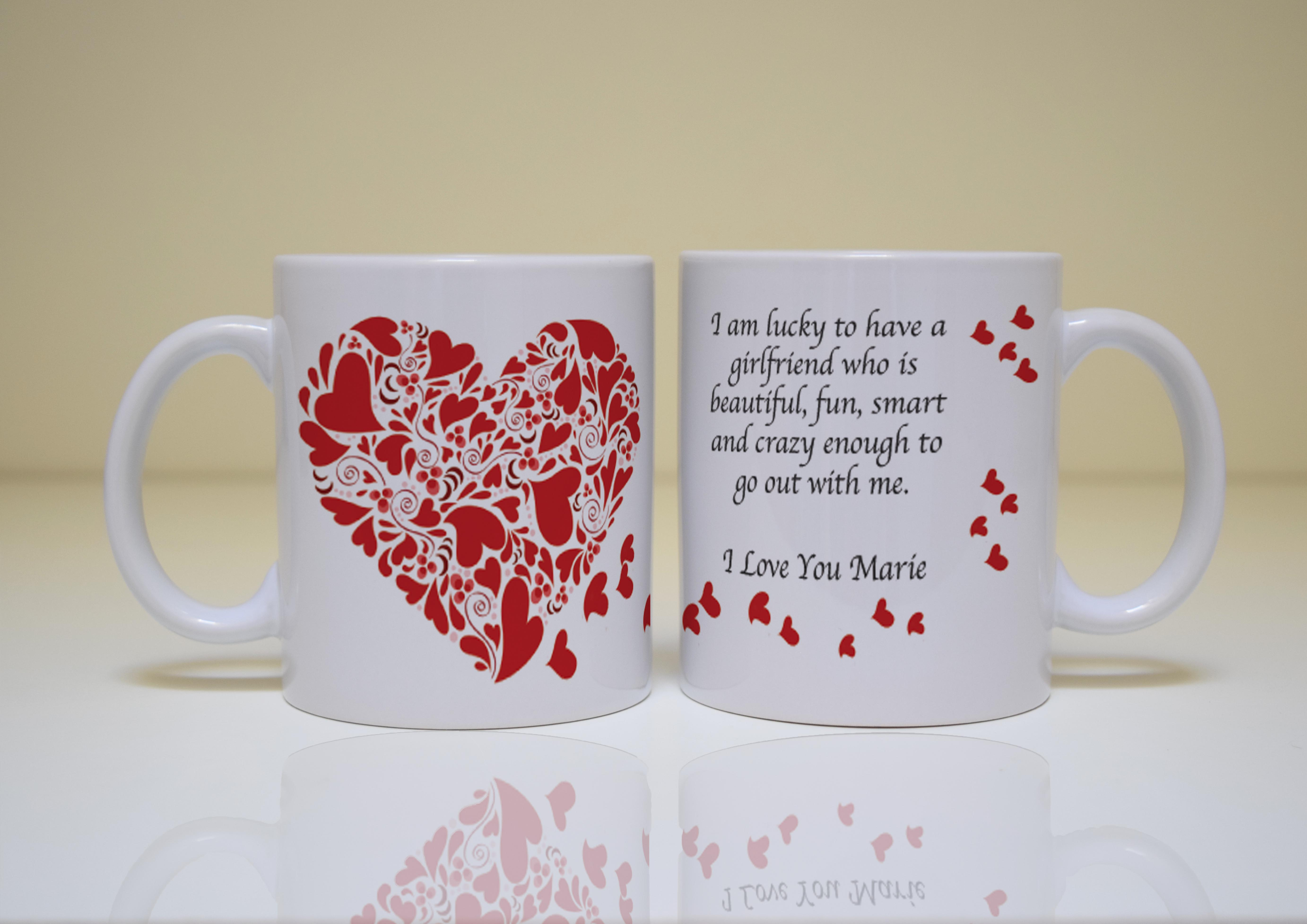 Valentines Day Personalized Mug Customize Nation