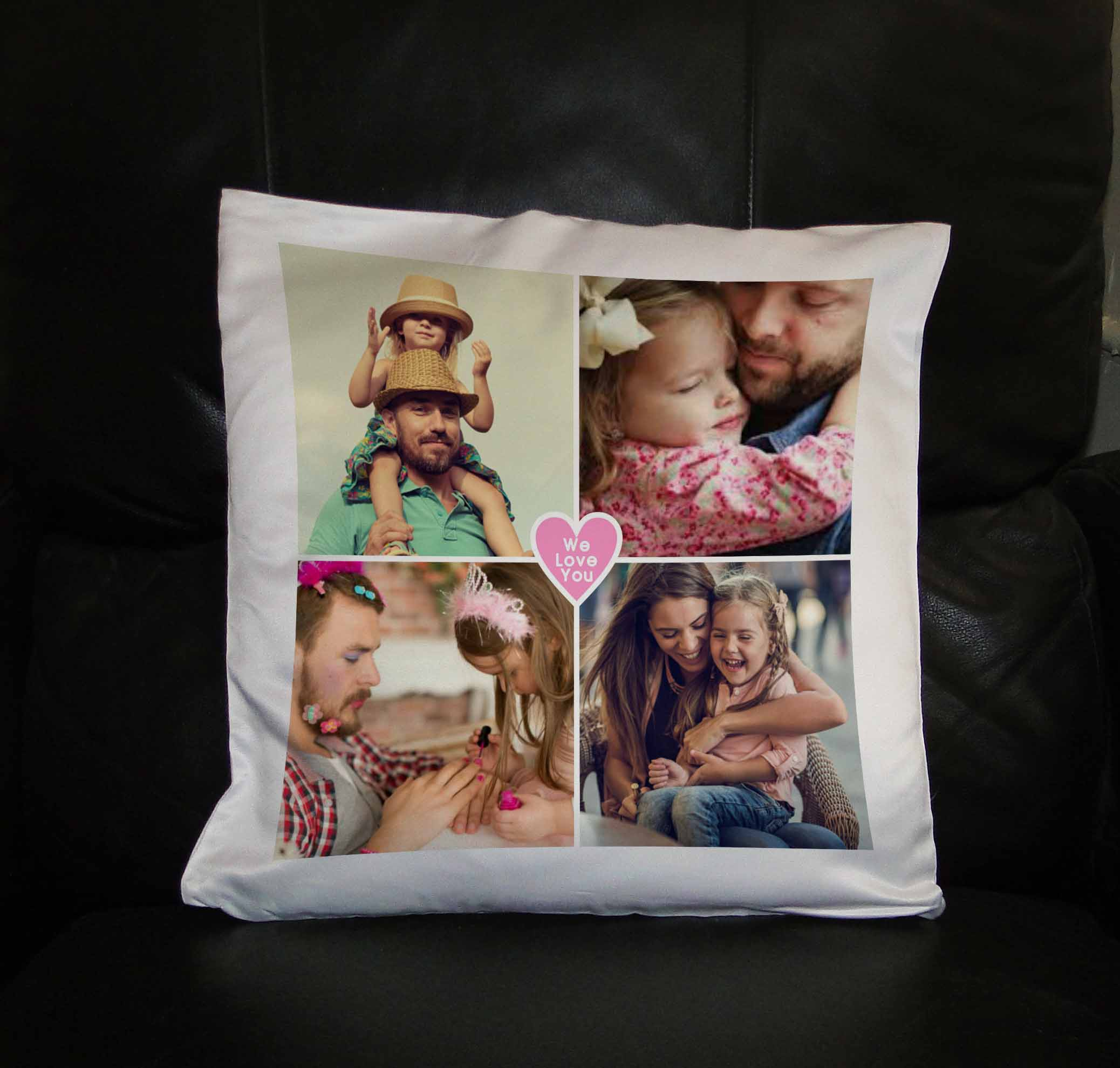 photo collage on a pillow customize nation