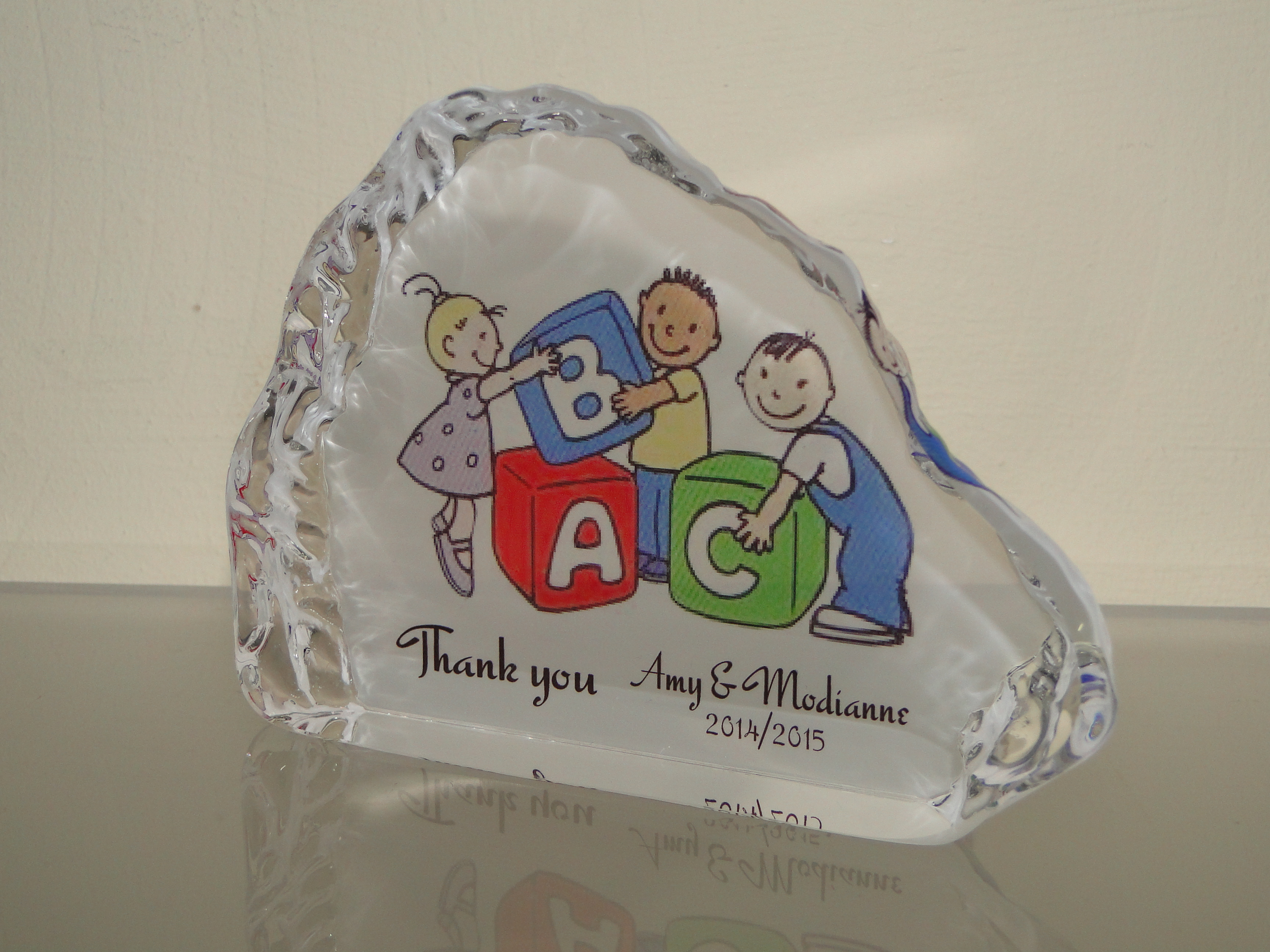 Personalized Gifts. Home u203a Personalized Gifts u203a Thank you gift for Teacher Personalized Crystal & Thank you gift for Teacher Personalized Crystal - Customize Nation