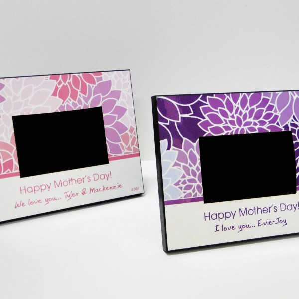 Happy Mother\'s Day Picture Frame - Customize Nation