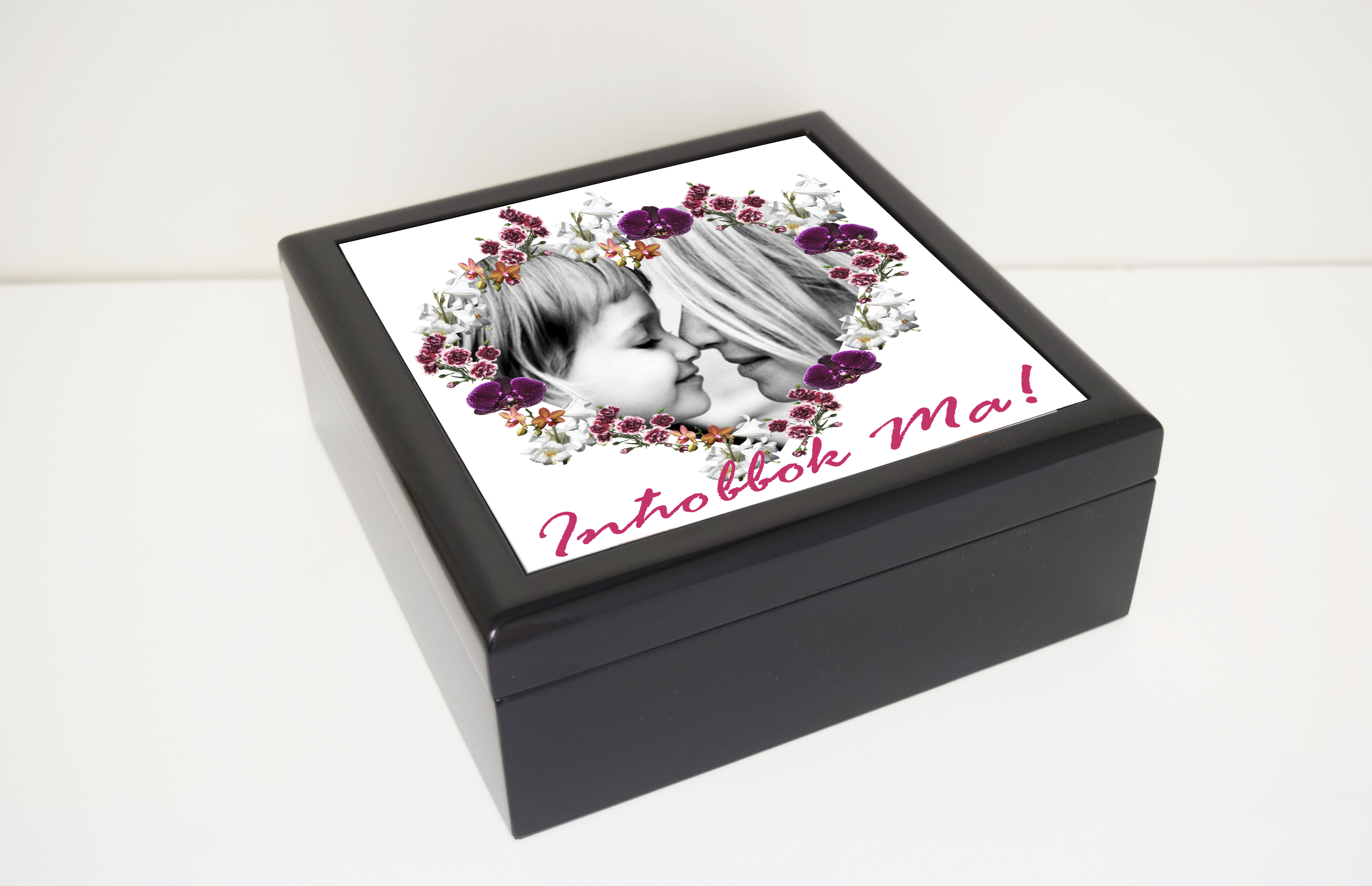 Mother S Day Photo Personalised Jewellery Box Customize Nation
