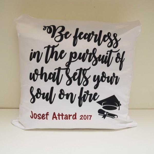 personalized graduation pillow customize nation