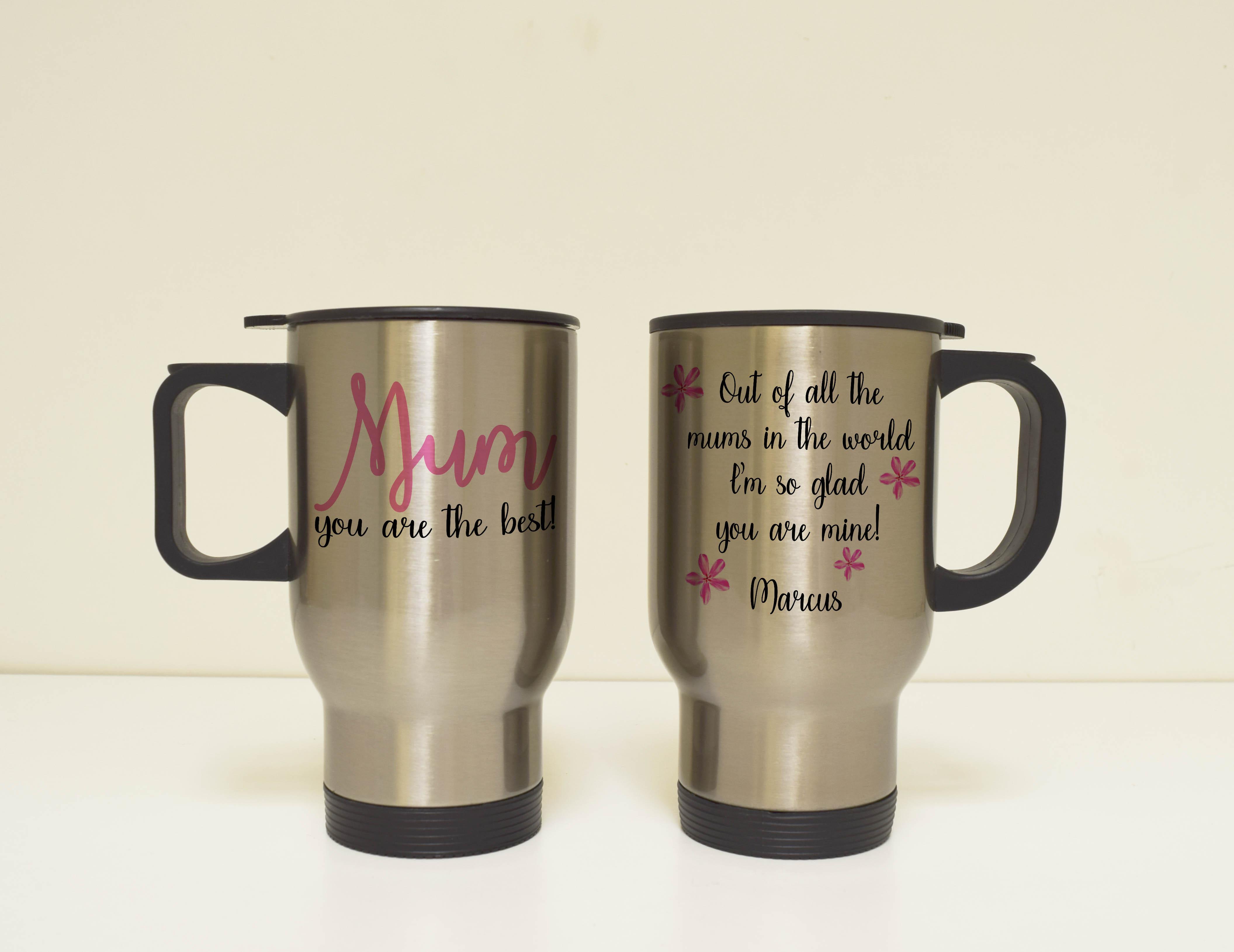 Mother's Day Travel Mug - Customize Nation